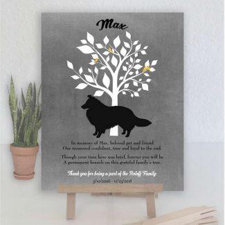 Sheltie Dog, Family Tree, Dog Memorial,