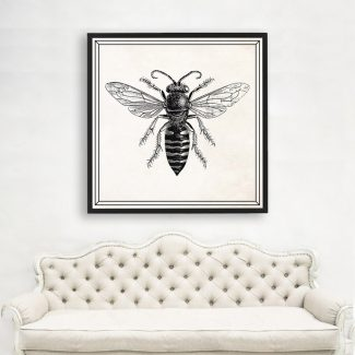 Bumble Bee, Large Insect Wall Art,