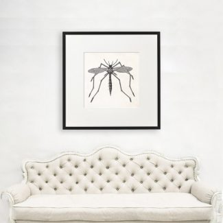 Mosquito Wall Art, Insect Wall Art,