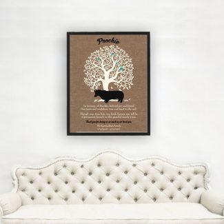 Corgi Dog, Family Tree, Dog Memorial,