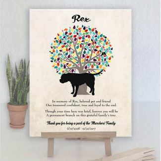 American Bulldog, Family Tree, Dog Memorial,