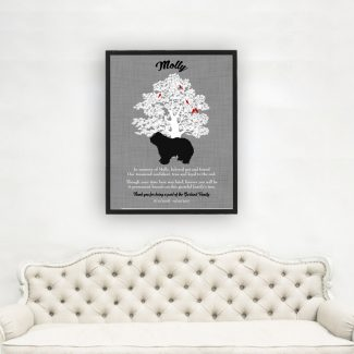 Bearded Collie, Family Tree, Dog Memorial,
