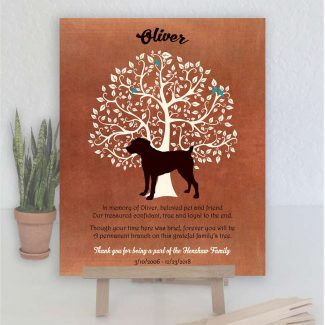 Boeboel, Family Tree, Dog Memorial, Poem,