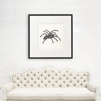 Tarantula Art, Large Insect Wall Art,
