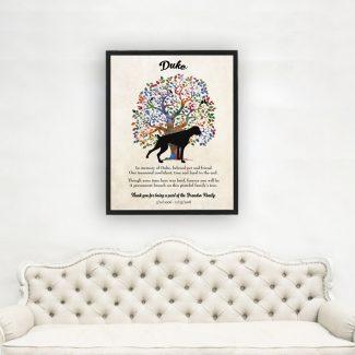 Boxer, Family Tree, Dog Memorial, Poem,