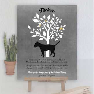 Bull Terrier, Family Tree, Dog Memorial,