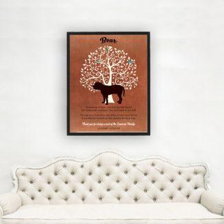 Bullmastiff, Family Tree, Dog Memorial, Poem,