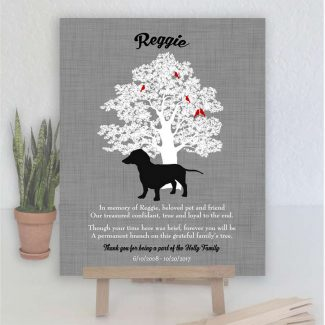 Dachshund, Family Tree, Dog Memorial, Poem,