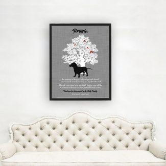 Dachshund, Family Tree, Dog Memorial, Poem,