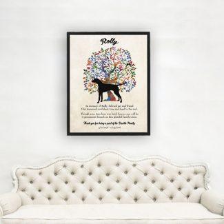 Dalmatian, Family Tree, Dog Memorial, Poem,
