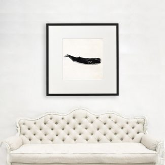Whale Art Gift, Large Whale Wall