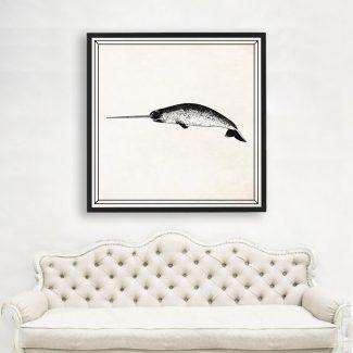 Swordfish Art, Large Swordfish Wall Art,