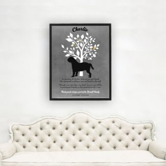 Griffin Beige, Family Tree, Dog Memorial,