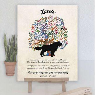 Landseer Dog, Family Tree, Dog Memorial,