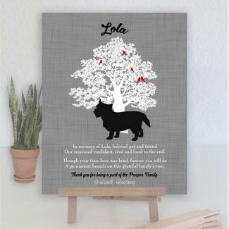 Norwich Terrier, Family Tree, Dog Memorial,