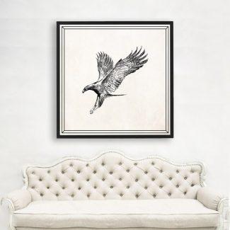Golden Eagle Art, Large Eagle Wall