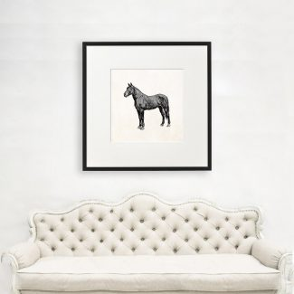 Horse Art, Large Horse Wall Art,