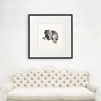 Bear Cub Art, Large Animal Wall