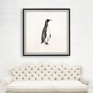 Penguin Wall Art, Large Penguin Wall