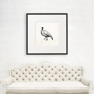 Nene Wall Art, Large Bird Wall