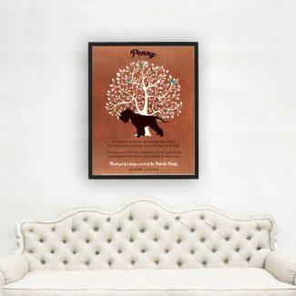 Soft Coated Wheaten Terrier, Dog Memorial,