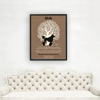 Standard Poodle, Family Tree, Dog Memorial,