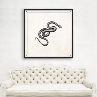 Snake Art Gift, Large Snake Wall