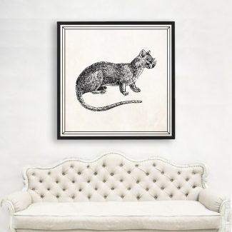 Cat Wall Art, Large Cat Wall