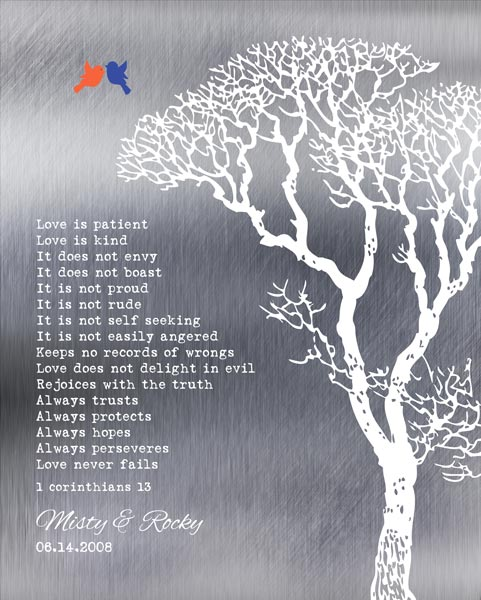 You are currently viewing Corinthians Love Is Patient Shiny Background Bare Wedding Winter Tree Gift Personalized For Rocky