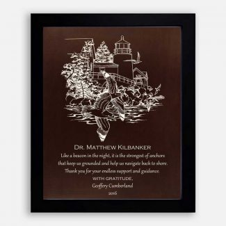 Personalized Mentor Gift, Dark Night &
