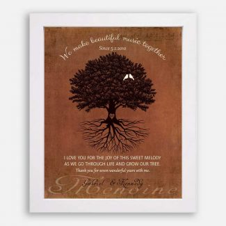 Beautifully Handcrafted Personalized Anniversary Gift, A