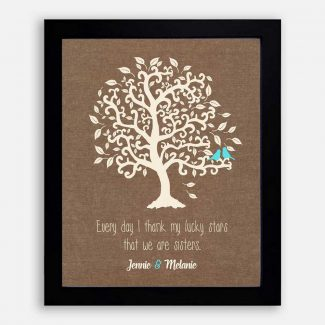 Personalized Sister Gift, Handmade Image Of