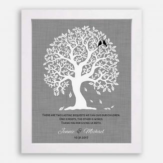 Thank You Gift For Parents, Personalized