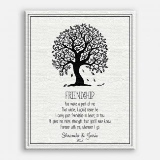 Personalized Friendship Gift, Handcrafted Gift For