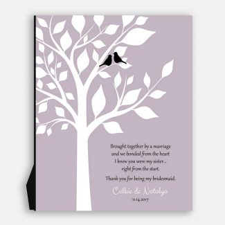 Personalized Bridesmaid Gift, Thank You Gift,