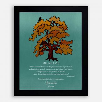 Teacher Thank You Gift, Personalized Gift