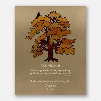 Personalized Gift For Teacher, Gift From Student, Gift For Mentor, Boss Gift, Gift For Leader, Arne Duncan Quote, Separation Gift, 1820