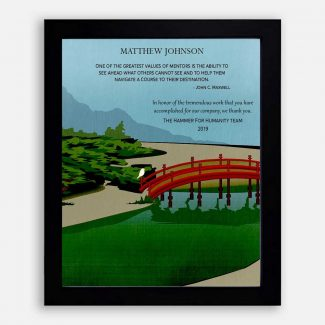 Personalized Gift For Mentor, Honor Gift,