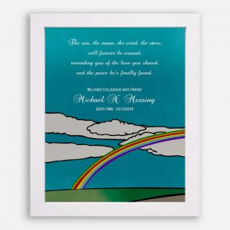 Personalized Sympathy Gift, Sorrow Memoir, Loss