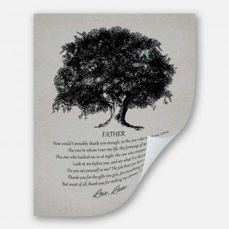 Father of Bride Large Oak Tree