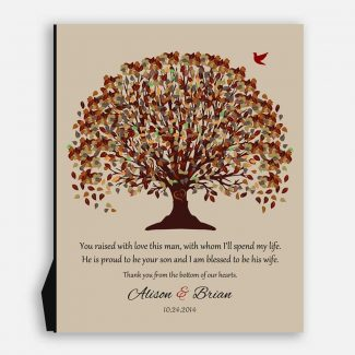 Mother of Groom Fall Tree Canopy