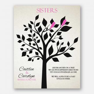 Sister Black And Pink We Will