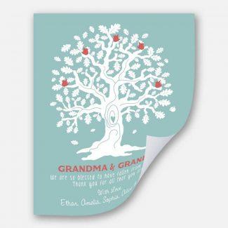 Grandma And Grandpa Oak Tree And