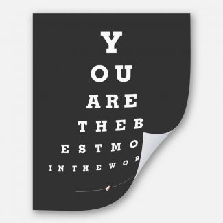 Mother Eye Chart You Are The