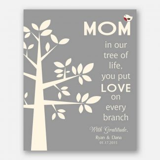 Mothers Day Tree of Life Love