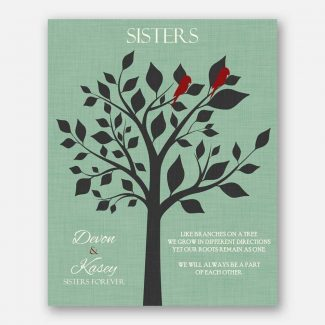 Sister of Bride Sisters Forever Charcoal
