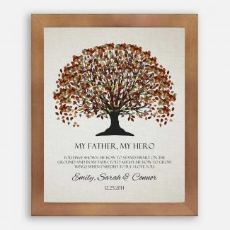 Father of Bride Groom Fall Canopy