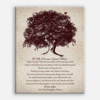 Mother In Law Oak Tree on