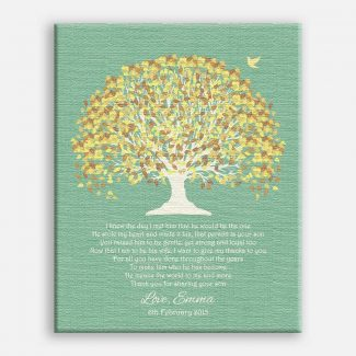 Mother of Groom Yellow Canopy on
