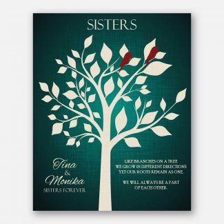 Sister of Bride Sisters Forever Bright